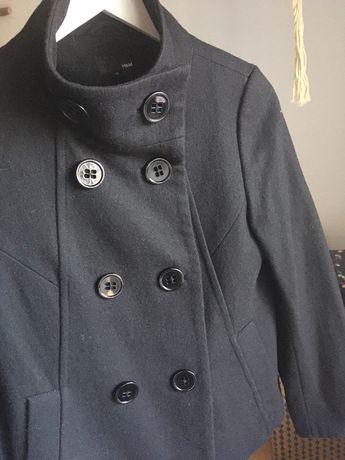 Kurtka krótki płaszcz HM wełna