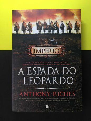 Anthony Riches - A espado do Leopardo (Portes CTT Grátis)