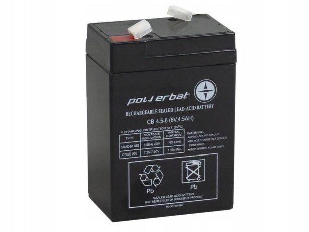 Akumulator żelowy Powerbat Cb 4,5, 6 6v 4,5Ah