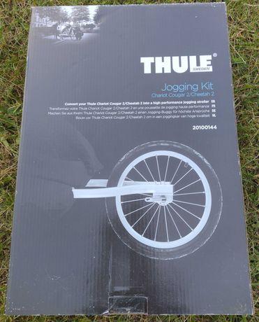 Thule Cougar Jogging Kit 2 - kółko biegowe do przyczepki- jak nowe
