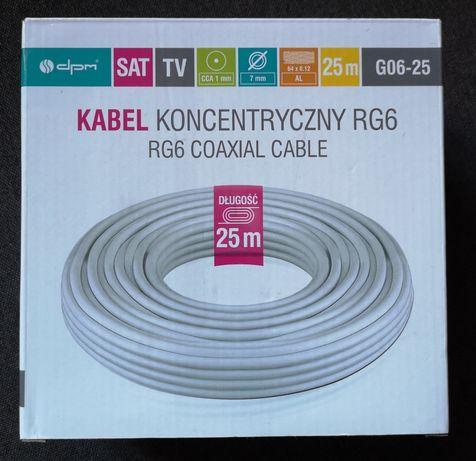 Kabel koncentryczny RG6