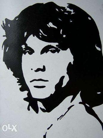 Портрет Джимма Моррисона в стиле поп-арт