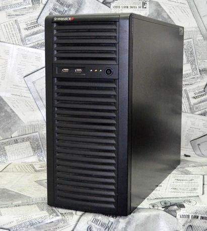Сервер,1С двухпроцессорный Supermicro X9DRL-3F ! Гарантия 3 мес