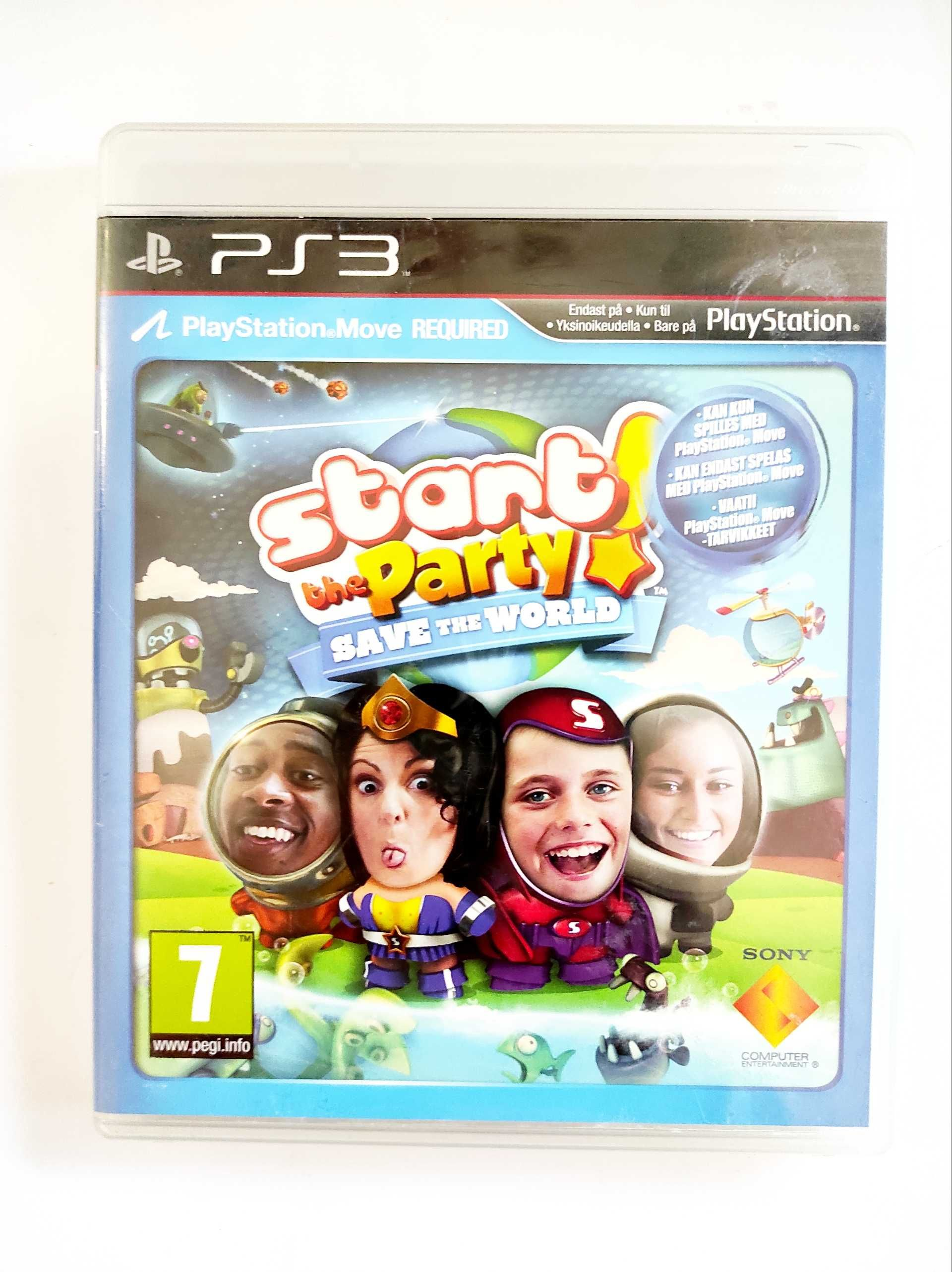 Start the party save the world ps3