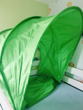 Ikea baldachim Sufflett zielony