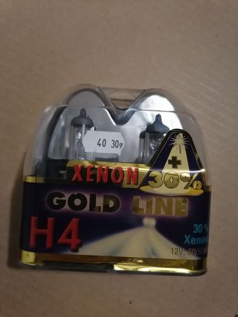 Żarówki Xenon 30% Gold Line