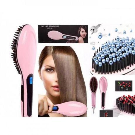 Щітка-вирівнювач Fast Hair Straightener HQT-906