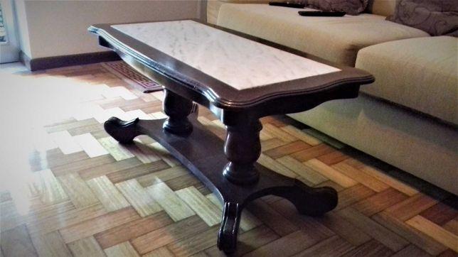 mesa centro sala em mármore