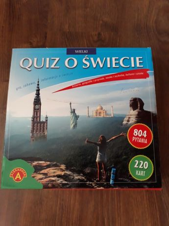 Quiz o Świecie gra planszowa