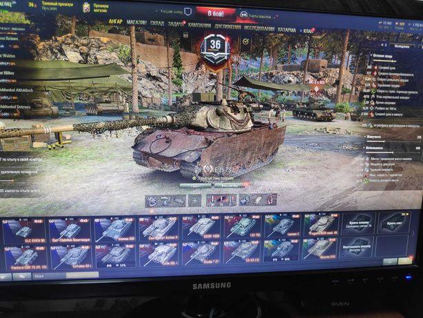 Продам аккаунт в танках