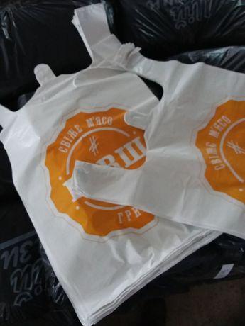 Пакеты опт, производство,кульки, с логотипом! Майка , банан !