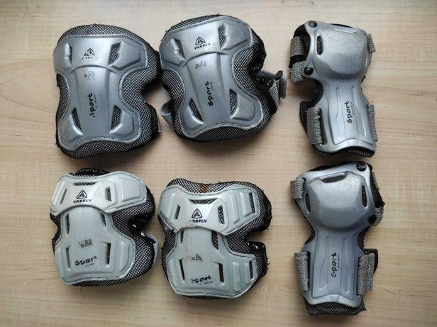 Детская защита, наколенники, налокотники и наладонники Firefly 25-50кг