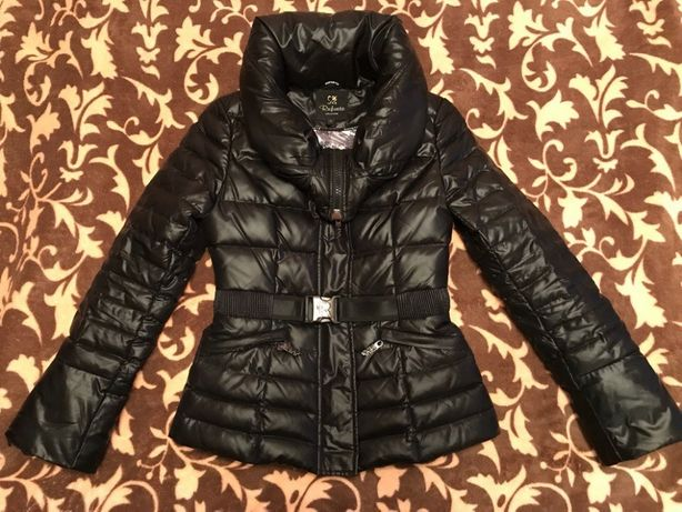 Куртка курточка пуховик фирмы RUFUETE;размер 38-40!