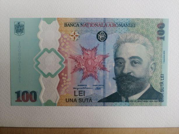 100 lei 2019 polimer Rumunia
