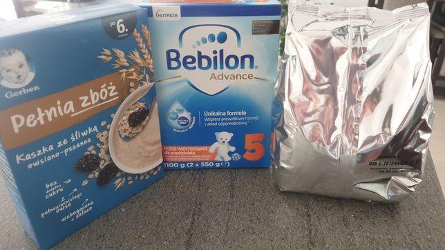 Mleko Bebilon 550g + Gerber Kaszka ze śliwką 200g