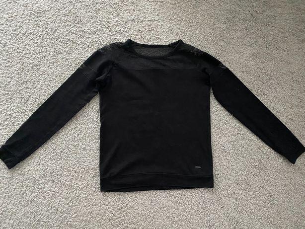 Czarna bluzka cropp