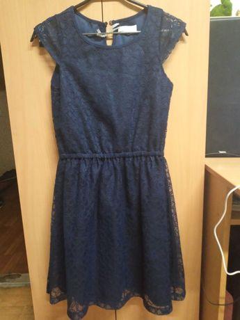 Платье гипюровое 158р