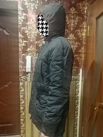 Зимняя теплая парка куртка STAFF