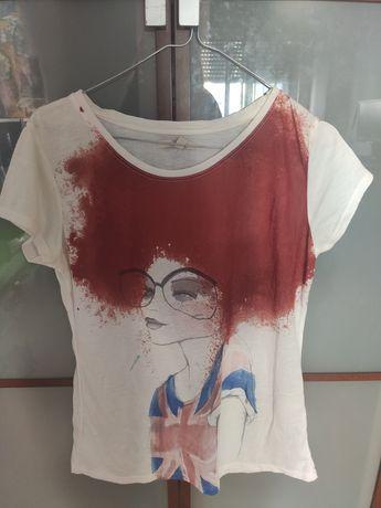 T Shirt Zara - Tam M