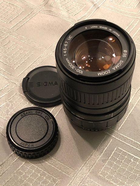 ! REZERWACJA ! Sigma zoom AF UC 4.5-6.7/100-300mm PENTAX PK
