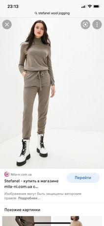 Шерстяные штаны джоггеры Stefanel Cos brunello cucinelli filippi