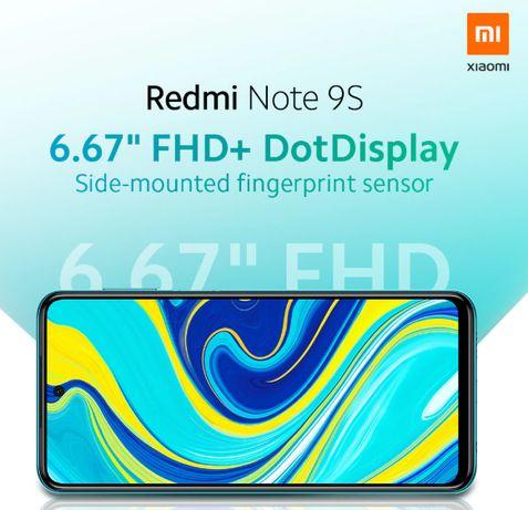 Smartphone Xiaomi Redmi Note 9S Grey 6GB / 128 GB - Disponiveis