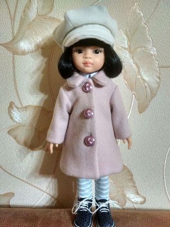 Пальтишко и шапочка для Куколок Paola Reina