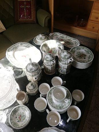 zestaw śniadaniowy angielska porcelana
