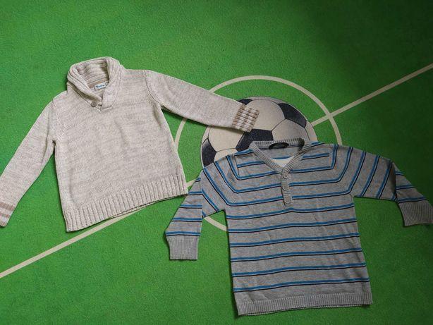 Sweterki dla chłopca rozmiar 98