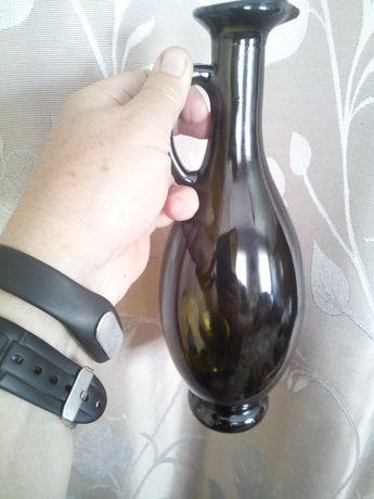 Кувшин-бутылка из темного стекла 750 мл