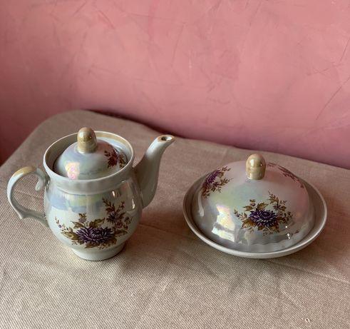 Чайник, керамика, заварник, набор, чайник керамический