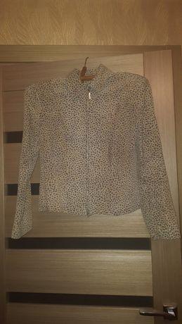 Куртка кожаная, женская
