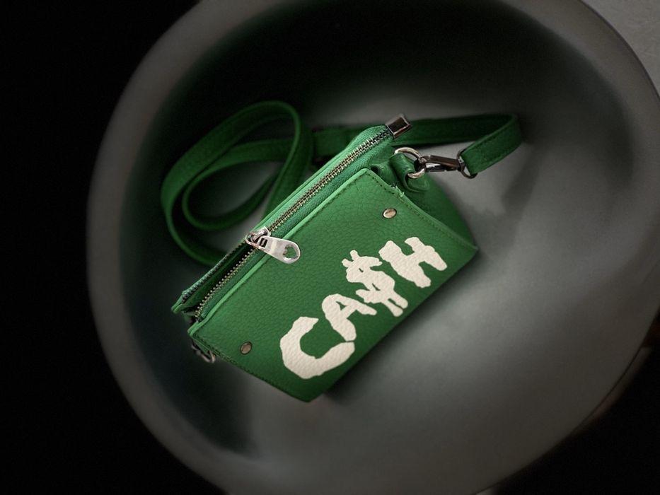 Сумка зеленая Cash Одесса - изображение 1