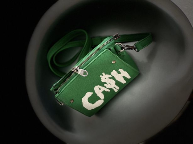 Сумка зеленая Cash