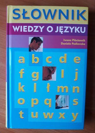 Słownik wiedzy o języku Płuciennik Podlawska