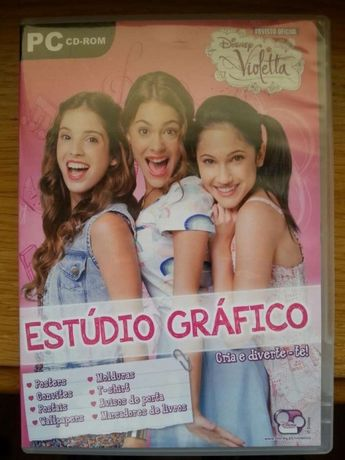cd rom Violetta Estúdio grafico