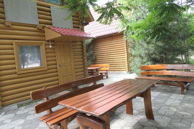 Комфортный отдых на Азовском море . База отдыха . Генгорка. Геническ