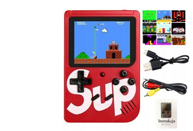 Mini konsola Retro 400 gier Mario Bros Gameboy Pegasus