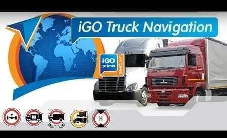 Nawigacja GPS Peyling 5 cali iGO Europa Truck mapy iGO i TomTom