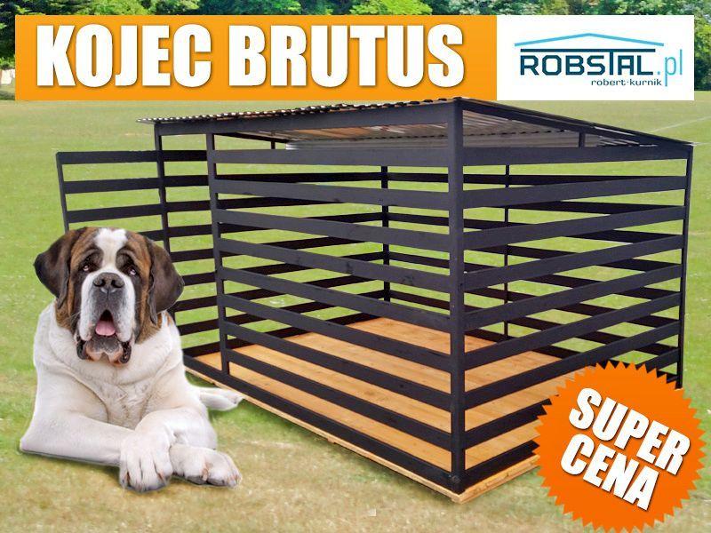 BARDZO MOCNY Kojec dla psa BRUTUS - klatki kojce dla zwierząt Żywiec - image 1