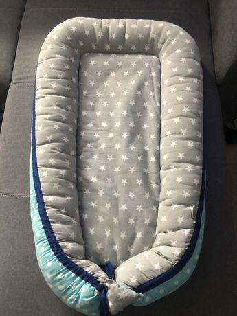 Dwustronny kokon niemowlęcy produkt polski