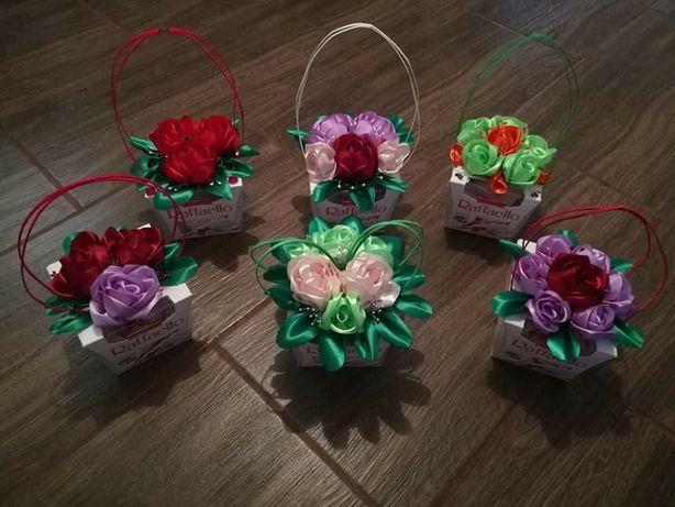 Kwiatowe rafaello, doskonały prezent dla nauczyciela