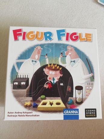 Gra planszowa, gra ćwicząca uwagę i spostrzegawczość Figur Figle 6+