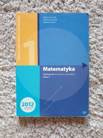 Matematyka 1 Pazdro - podręcznik podstawa i rozszerzenie