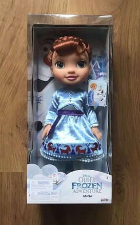 Disney Lalka Elsa Kraina Lodu Frozen Przygoda Olafa Elza barbie