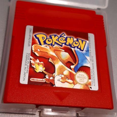 Jogo Pokémon Red Version impecável para o Game Boy Color (Nintendo)
