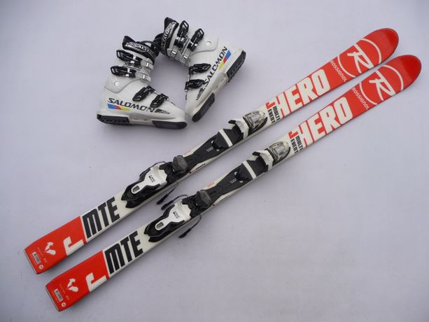 Komplet narciarski - narty Rossignol 140 cm + buty 38 lub 39,5 eu
