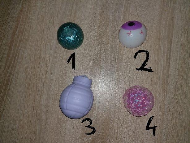 4 kolorowe gniotki