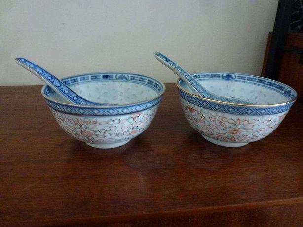 2 taças chinesas