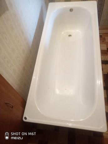 Продается железная белая ванна